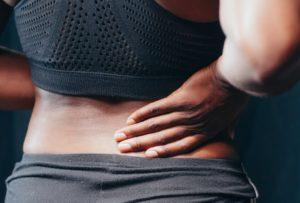 women having hip sciatica